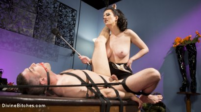 Photo number 6 from Cherry Torn Dominates and Fucks Foot-Sniffing Pervert Lance Hart shot for Divine Bitches on Kink.com. Featuring Cherry Torn and Lance Hart in hardcore BDSM & Fetish porn.
