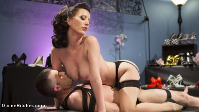 Photo number 10 from Cherry Torn Dominates and Fucks Foot-Sniffing Pervert Lance Hart shot for Divine Bitches on Kink.com. Featuring Cherry Torn and Lance Hart in hardcore BDSM & Fetish porn.