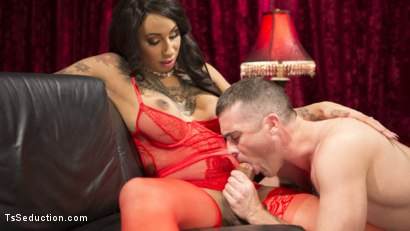 Photo number 9 from Sensual Sex in the Champagne Room with Honey Foxxx and Lance Hart shot for TS Seduction on Kink.com. Featuring Honey FoXXX and Lance Hart in hardcore BDSM & Fetish porn.