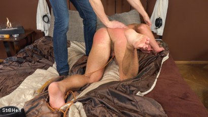 Photo number 11 from Bradley Cook - SPANKING shot for Str8Hell on Kink.com. Featuring Bradley Cook and Borek Sokol in hardcore BDSM & Fetish porn.