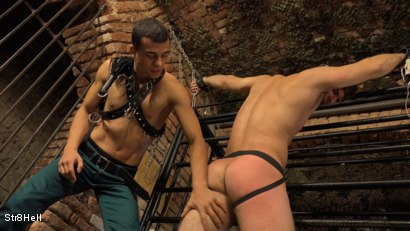 Photo number 12 from Viktor Burek - SPANKING shot for Str8Hell on Kink.com. Featuring Romi Zuska and Viktor Burek in hardcore BDSM & Fetish porn.