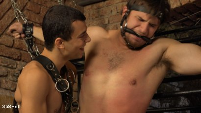 Photo number 4 from Viktor Burek - SPANKING shot for Str8Hell on Kink.com. Featuring Romi Zuska and Viktor Burek in hardcore BDSM & Fetish porn.
