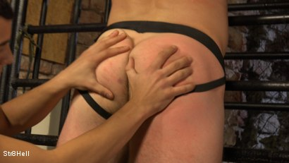Photo number 9 from Viktor Burek - SPANKING shot for Str8Hell on Kink.com. Featuring Romi Zuska and Viktor Burek in hardcore BDSM & Fetish porn.