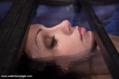 Photo number 9 from Waterbondage Exclusive!   Aria Giovanni is here! shot for Water Bondage on Kink.com. Featuring Aria Giovanni and Isis Love in hardcore BDSM & Fetish porn.