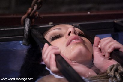 Photo number 11 from Waterbondage Exclusive!   Aria Giovanni is here! shot for Water Bondage on Kink.com. Featuring Aria Giovanni and Isis Love in hardcore BDSM & Fetish porn.