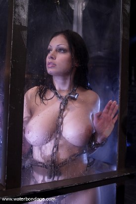 Pussy. she naked water bondage how her