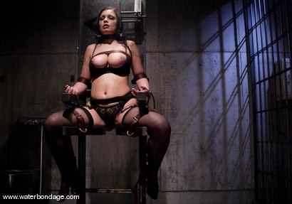 Photo number 2 from Waterbondage Exclusive!   Aria Giovanni is here! shot for Water Bondage on Kink.com. Featuring Aria Giovanni and Isis Love in hardcore BDSM & Fetish porn.
