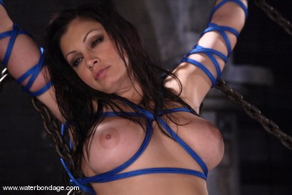 Waterbondage Exclusive! Aria Giovanni is here!