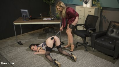 Photo number 6 from HUSH Ep 7: Julia Ann Takes Down Cherry Torn With Corrective Discipline shot for Kink Features on Kink.com. Featuring Cherry Torn and Julia Ann in hardcore BDSM & Fetish porn.