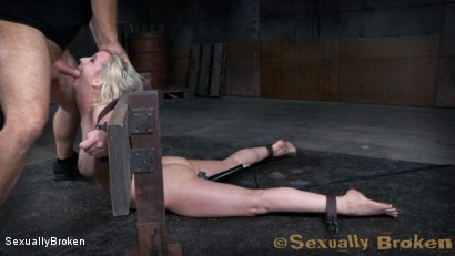 Photo number 11 from Pale Busty Blonde Bound for Rough Sex and Orgasms shot for Sexually Broken on Kink.com. Featuring Cherry Torn, Jack Hammer and Matt Williams in hardcore BDSM & Fetish porn.