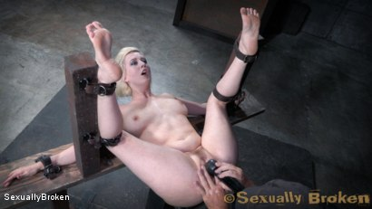 Photo number 7 from Pale Busty Blonde Bound for Rough Sex and Orgasms shot for Sexually Broken on Kink.com. Featuring Cherry Torn, Jack Hammer and Matt Williams in hardcore BDSM & Fetish porn.