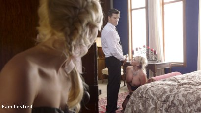 Photo number 31 from My Step-Mother is a Secret Sex Slave shot for  on Kink.com. Featuring Phoenix Marie, Piper Perri and Ramon Nomar in hardcore BDSM & Fetish porn.