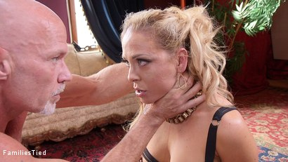 Photo number 37 from Black Mailed: Step-Mother & Daughter Sexually Punished shot for  on Kink.com. Featuring Cherie DeVille, Holly Hendrix and Mark Davis in hardcore BDSM & Fetish porn.