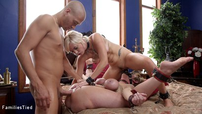 Photo number 19 from Improving Mommy's Spoiled Step Daughter's Failing Grades shot for  on Kink.com. Featuring Xander Corvus, Dee Williams and Eliza Jane in hardcore BDSM & Fetish porn.