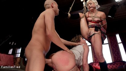 Photo number 24 from Improving Mommy's Spoiled Step Daughter's Failing Grades shot for  on Kink.com. Featuring Xander Corvus, Dee Williams and Eliza Jane in hardcore BDSM & Fetish porn.