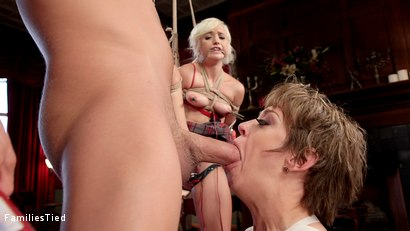 Photo number 28 from Improving Mommy's Spoiled Step Daughter's Failing Grades shot for  on Kink.com. Featuring Xander Corvus, Dee Williams and Eliza Jane in hardcore BDSM & Fetish porn.