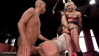 Photo number 29 from Improving Mommy's Spoiled Step Daughter's Failing Grades shot for  on Kink.com. Featuring Xander Corvus, Dee Williams and Eliza Jane in hardcore BDSM & Fetish porn.