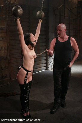 Photo number 4 from LieLani shot for Sex And Submission on Kink.com. Featuring Mark Davis and LieLani in hardcore BDSM & Fetish porn.