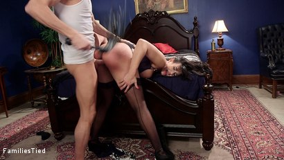 Photo number 29 from Discipline for Mommy's Little Anal Slut shot for  on Kink.com. Featuring Xander Corvus, Penny Barber and Mercy West in hardcore BDSM & Fetish porn.