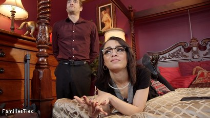 Photo number 20 from Facts of Desire: Petite 19 Year Old Trained by Anal Slut Step-Mom & Sadistic Butler shot for  on Kink.com. Featuring Xander Corvus, Holly Hendrix and Syren de Mer in hardcore BDSM & Fetish porn.