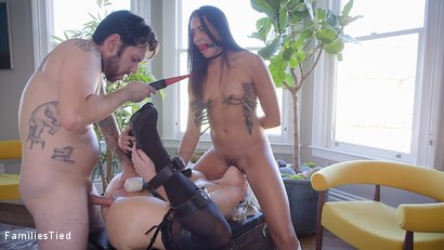 Photo number 26 from Avi's Anal Training with her Sadistic Step Family shot for  on Kink.com. Featuring Avi Love , Jessica Ryan and Tommy Pistol in hardcore BDSM & Fetish porn.
