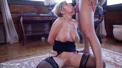 Photo number 12 from Only One way to Find Out: Step-Daughter Anally Trained By Busty Step-Mother shot for  on Kink.com. Featuring Seth Gamble, Dee Williams and Aspen Ora in hardcore BDSM & Fetish porn.