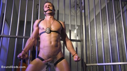 Photo number 11 from Inmate D.Arclyte Captures Correctional Officer, Nate Grimes shot for Bound Gods on Kink.com. Featuring D. Arclyte and Nate Grimes in hardcore BDSM & Fetish porn.