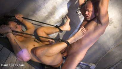 Photo number 27 from Inmate D.Arclyte Captures Correctional Officer, Nate Grimes shot for Bound Gods on Kink.com. Featuring D. Arclyte and Nate Grimes in hardcore BDSM & Fetish porn.