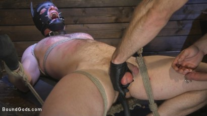Photo number 18 from Puppy Play, Kennel Training shot for Bound Gods on Kink.com. Featuring Jonah Fontana and Brian Bonds in hardcore BDSM & Fetish porn.