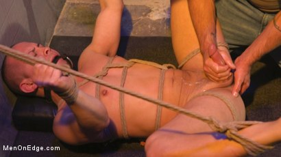 Photo number 32 from Brodie Ramirez Gets Edged in the Alley shot for Men On Edge on Kink.com. Featuring Brodie Ramirez in hardcore BDSM & Fetish porn.