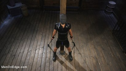 Photo number 2 from Monster Cocked Noob Blindfolded, Gagged, and Edged Til He Blows shot for Men On Edge on Kink.com. Featuring Matt Anthony in hardcore BDSM & Fetish porn.