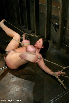 Photo number 11 from Daphne Rosen shot for Hogtied on Kink.com. Featuring Daphne Rosen in hardcore BDSM & Fetish porn.