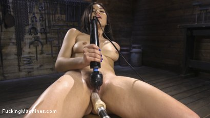 Photo number 5 from 19 year old Newbie Gets Fucked Senseless by The Machines shot for Fucking Machines on Kink.com. Featuring Kendra Spade in hardcore BDSM & Fetish porn.