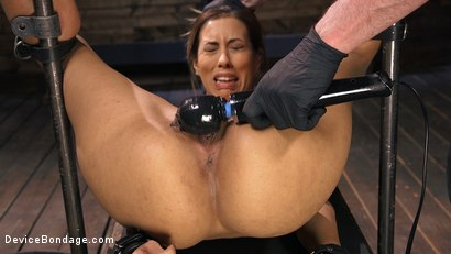 Photo number 14 from Busty Latina Slut Is Tormented in Grueling Bondage shot for Device Bondage on Kink.com. Featuring The Pope and Demi Lopez in hardcore BDSM & Fetish porn.