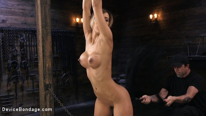 Photo number 3 from Busty Latina Slut Is Tormented in Grueling Bondage shot for Device Bondage on Kink.com. Featuring The Pope and Demi Lopez in hardcore BDSM & Fetish porn.