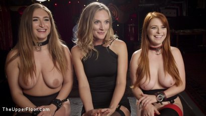 Photo number 19 from Squirting Slave Sluts Inspire A BDSM Halloween Orgy shot for The Upper Floor on Kink.com. Featuring Penny Pax, Skylar Snow , Michael Vegas and Mona Wales in hardcore BDSM & Fetish porn.