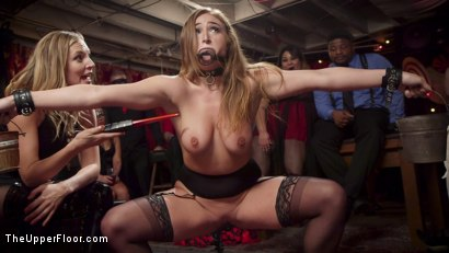 Photo number 3 from Squirting Slave Sluts Inspire A BDSM Halloween Orgy shot for The Upper Floor on Kink.com. Featuring Penny Pax, Skylar Snow , Michael Vegas and Mona Wales in hardcore BDSM & Fetish porn.