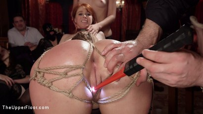 Photo number 22 from Busty Red-Headed Squirting Anal Whores Made to Serve Mona Wales shot for The Upper Floor on Kink.com. Featuring Penny Pax, Skylar Snow , Michael Vegas and Mona Wales in hardcore BDSM & Fetish porn.