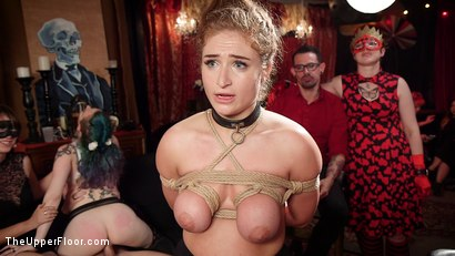 Photo number 15 from Busty Red-Headed Squirting Anal Whores Made to Serve Mona Wales shot for The Upper Floor on Kink.com. Featuring Penny Pax, Skylar Snow , Michael Vegas and Mona Wales in hardcore BDSM & Fetish porn.