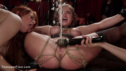 Photo number 3 from Busty Red-Headed Squirting Anal Whores Made to Serve Mona Wales shot for The Upper Floor on Kink.com. Featuring Penny Pax, Skylar Snow , Michael Vegas and Mona Wales in hardcore BDSM & Fetish porn.