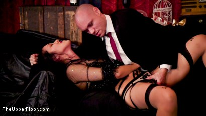 Photo number 8 from Masochistic Anal Sluts Stuffed With Cock at Holiday Ball shot for The Upper Floor on Kink.com. Featuring Aiden Starr, Owen Gray, Maya Kendrick and Nikki Darling in hardcore BDSM & Fetish porn.