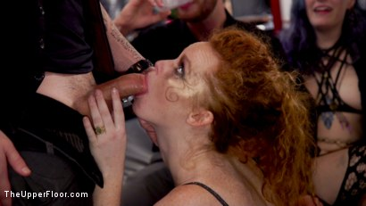 Photo number 10 from Masochistic Anal Sluts Stuffed With Cock at Holiday Ball shot for The Upper Floor on Kink.com. Featuring Aiden Starr, Owen Gray, Maya Kendrick and Nikki Darling in hardcore BDSM & Fetish porn.