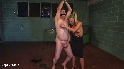 Photo number 10 from The Little Bitch Gets Taught A Lesson shot for Captive Male on Kink.com. Featuring Harmony and Riki Fixit in hardcore BDSM & Fetish porn.