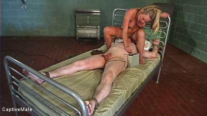 Photo number 13 from The Little Bitch Gets Taught A Lesson shot for Captive Male on Kink.com. Featuring Harmony and Riki Fixit in hardcore BDSM & Fetish porn.