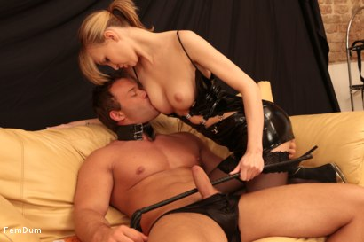 Photo number 12 from Fake Tits Dominatrix shot for FemDum on Kink.com. Featuring Lois and Peter Stallion in hardcore BDSM & Fetish porn.