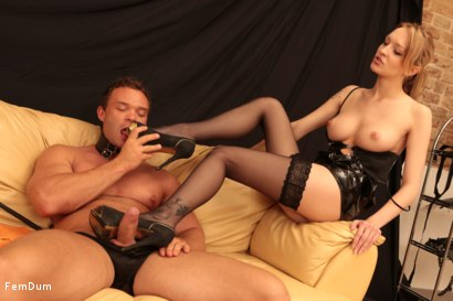 Photo number 13 from Fake Tits Dominatrix shot for FemDum on Kink.com. Featuring Lois and Peter Stallion in hardcore BDSM & Fetish porn.
