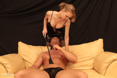 Photo number 6 from Fake Tits Dominatrix shot for FemDum on Kink.com. Featuring Lois and Peter Stallion in hardcore BDSM & Fetish porn.