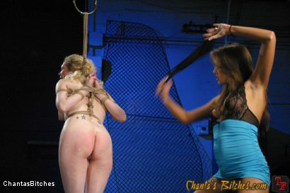 Photo number 4 from Painful Reminders shot for Chantas Bitches on Kink.com. Featuring Rain DeGrey and Nika Noire in hardcore BDSM & Fetish porn.