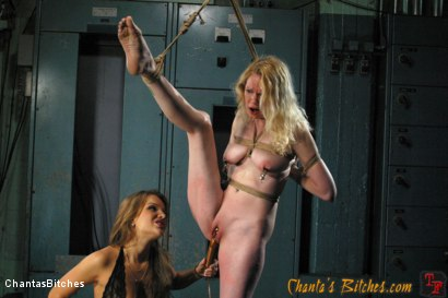 Photo number 9 from Painful Reminders shot for Chantas Bitches on Kink.com. Featuring Rain DeGrey and Nika Noire in hardcore BDSM & Fetish porn.