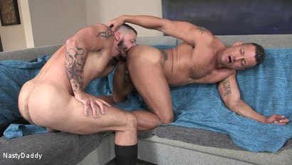 Photo number 4 from Tex's Raw Vacation shot for Nasty Daddy on Kink.com. Featuring Tex Davidson and Angelo Marconi in hardcore BDSM & Fetish porn.